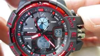 Sanda, S-shock, red, unboxing, tested, working