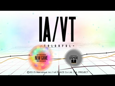 IA/VT COLORFUL - Playthrough Part 1 [PS TV] |