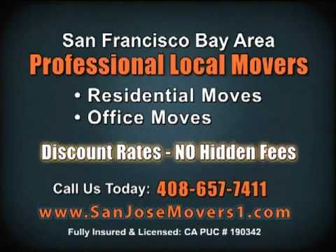 San Jose Movers | Local San Jose Moving