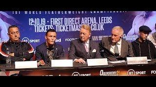 Josh Warrington vs Sofiane Takoucht LEEDS FULL PRESS CONFERENCE | Frank Warren Boxing