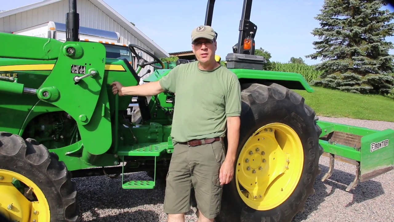 John Deere 5055E `REVIEW`