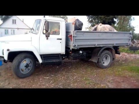 Купил автомобиль ГАЗ 3309 и счатье и печаль...