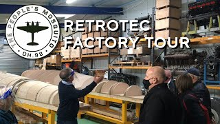 The People's Mosquito - supporter's factory tour