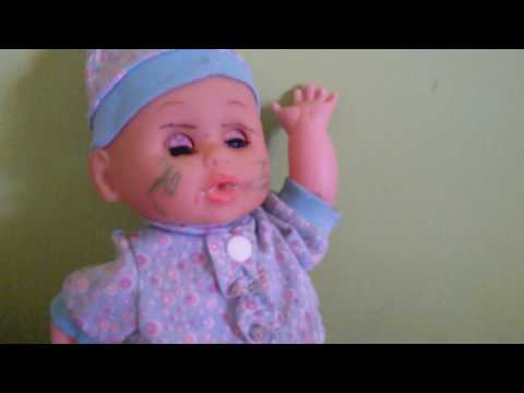Blinds folded doll makeup challenge