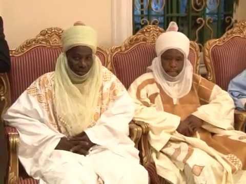President Jonathan Visits Emir of Dutse