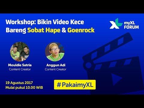 [Streamed Live on 8-19-17] Bikin Video Kece Bareng Sobat Hape & Goenrock