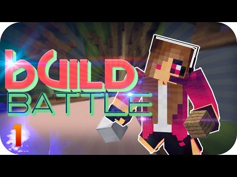 BUILD BATTLE Minecraft - #1 - Gameplay español -  ¡Soy una constructora genial!