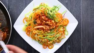 5 Healthy And Delicious Spiralizer Recipes For Weight Loss In 2019😱😱