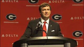 Kirby Smart Introduced as UGA Football Coach