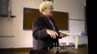 1997г. первый урок в учебном году .Черкасова Н.И