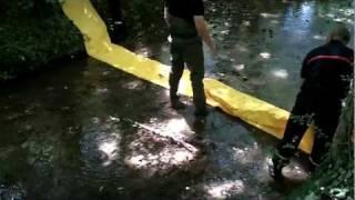 barrage anti inondation sdis nievre