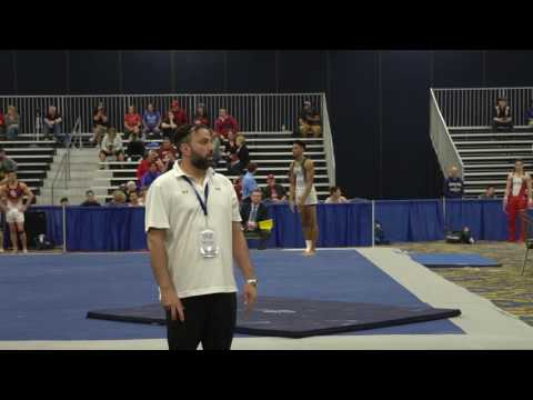 Jordan Williams - Floor Exercise - 2017 Winter Cup Prelims