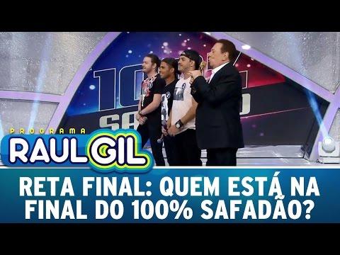 Programa Raul Gil (30/04/16) - Reta final: Quem foi para a final do 100% Safadão?