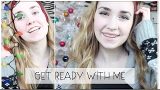 Chit Chat Get Ready With Me- Holiday Edition & Rosegold Eyes! Thumbnail