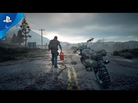 Climb aboard Days Gone's motorcycle — but don't run out of gas