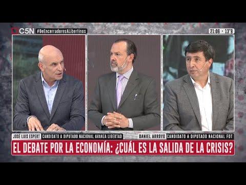Download ELECCIONES 2021: DEBATE entre José Luis ESPERT y Daniel ARROYO en Minuto Uno