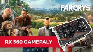 Farcry 5 Gameplay  - AMD Radeon RX 560