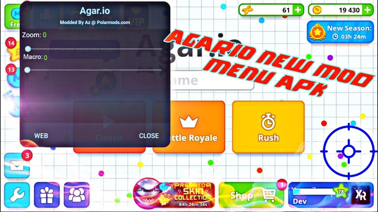 Agario FIX ZOOM PROBLEM +Duo Takeover (agar.io mobile)