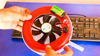 How to Make an Air Cooler (Air Conditioner Easy Life Hack)