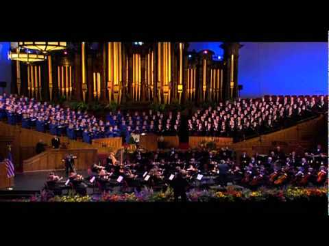 Novos Radio/TV: Col. Arnald D. Gabriel with the Mormon Tabernacle Choir