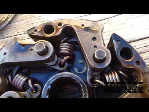 Yamaha Rhino 660 Wet Clutch Mod - Clutch Pad Replacement