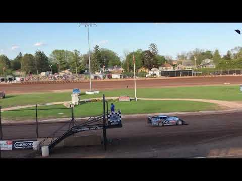 Plymouth Dirt Track Late Model Heats 5-25-2019
