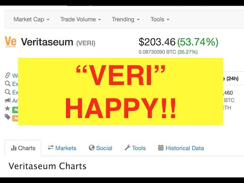 Why Veritaseum is up 100% in the last 36 Hours! (Bix Weir)