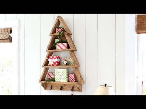 $10 Christmas Tree Shelf #anawhite