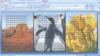 Comment créer un filigrane uniquement à la page sélectionnée dans word | Image en filigrane