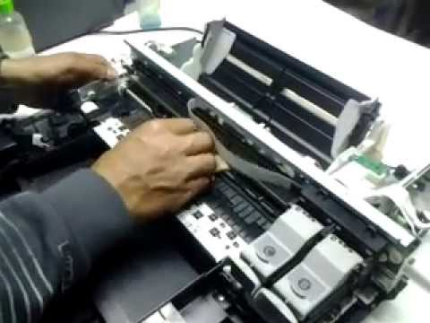 Mantenimiento y solucion posible de error P03 en impresora Canon MP250
