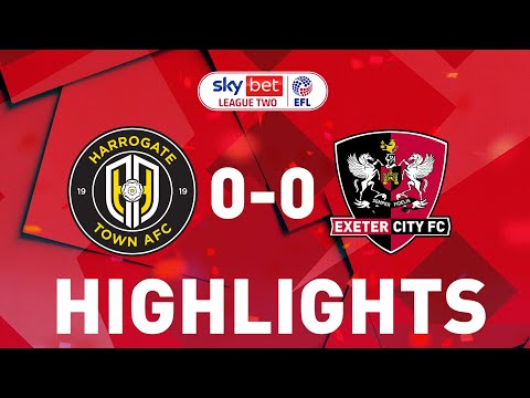 Harrogate Exeter City Goals And Highlights
