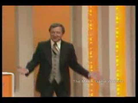 Premiere Episode of Blankety Blanks Opening (Match Game)