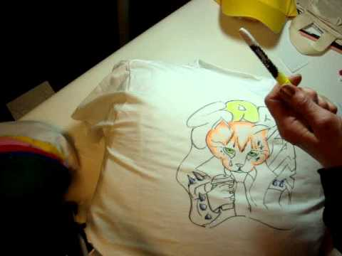using sharpie stained fabric markers youtube