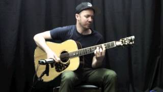 Acoustic Music Works Guitar Demo - Stelling RAD 125 Dreadnought
