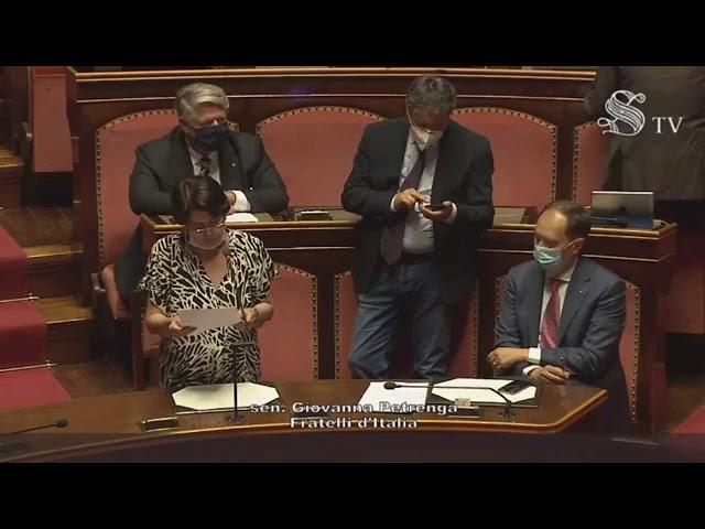 FdI Parlamento - Dichiarazione di voto della Sen. Petrenga su accordo cooperazione italo-argentina