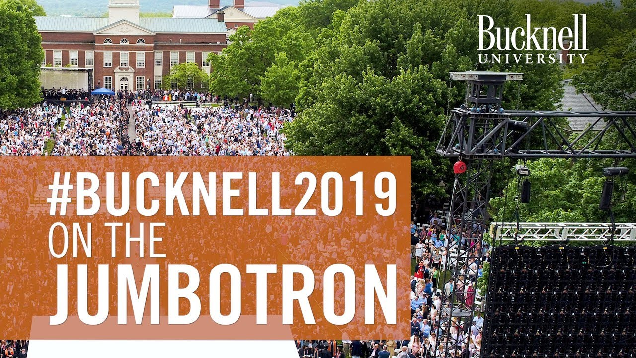 Bucknell Graduation 2020.Commencement
