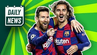Messi zerlegt den BVB! Red Bull steht im Achtelfinale! Schalke 04: Harit im Visier der Topclubs!