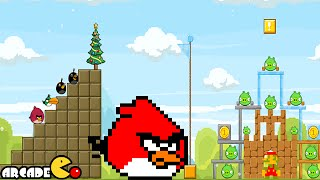 Angry Birds Friends - Retro Games Weekly Tournament All Level 1-6 3 Star Walkthrough 3/2/2015