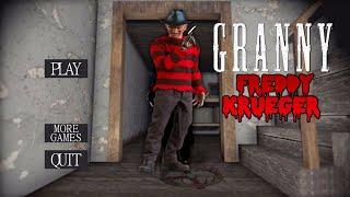 Granny Is Freddy Krueger!