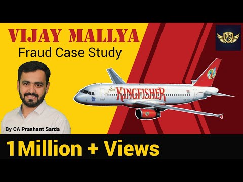Vijay Mallya Fraud Case Study