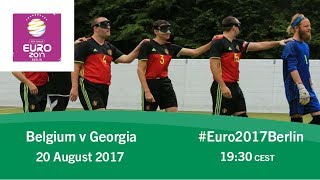 Belgium vs Georgia | IBSA Blind Football European Championships