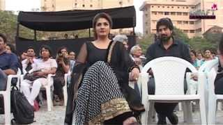 Most Beautiful Diva Raveena Tandon at kala ghoda Art Festival