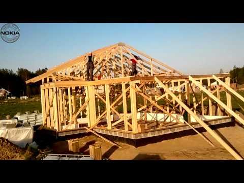 видео: Строим дом своими руками и своими силами (часть 5)