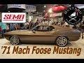 Chip Foose Mach Foose Mustang SEMA 2017 When 1971 Mach 1 meets 2011 GT Mustang Connection
