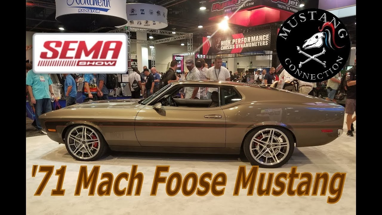 Chip Foose Mach Mustang Sema 2017 When 1971 1 Meets Gt Connection