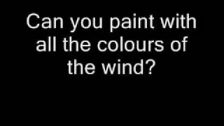 Watch Pocahontas Colours Of The Wind video