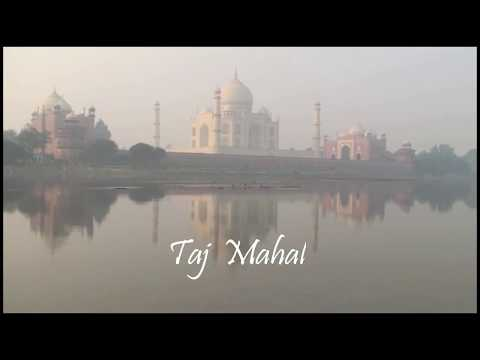 Taj Mahal India - The love of  Shah Jahan and Mumtaz Mahal