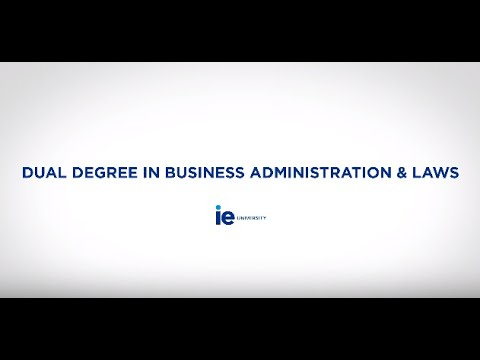 Business Administration Degree >> Dual Degree In Business Administration And Laws Soledad Atienza