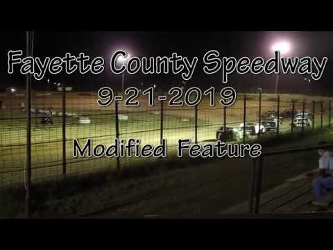 Fayette County Speedway Modified Feature September 21 2019