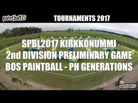 BOS Paintball vs PH Generations - SPBL2017 Kirkkonummi